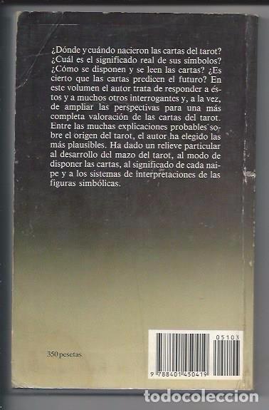 Libros de segunda mano: EL TAROT CLASSIC - STUART R. KAPLAN - AÑO 1985 - P&J - Foto 2 - 64451799