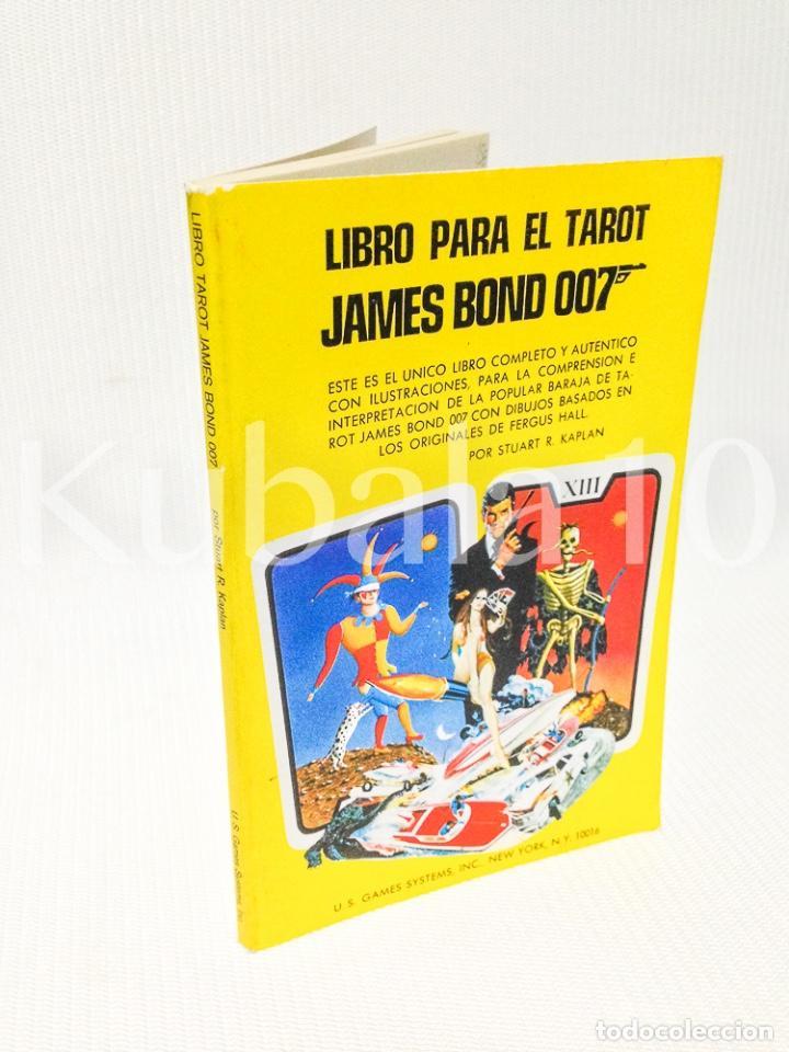 LIBRO PARA EL TAROT · JAMES BOND · 007 ·· (Libros de Segunda Mano - Parapsicología y Esoterismo - Tarot)