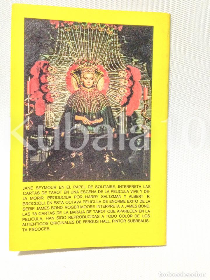 Libros de segunda mano: LIBRO PARA EL TAROT · JAMES BOND · 007 ·· - Foto 2 - 64593839