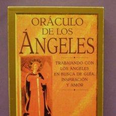 Libros de segunda mano: ORÁCULO DE LOS ÁNGELES - AMBIKA WAUTERS - LIBRO ILUSTRADO + 36 CARTAS. Lote 128070170