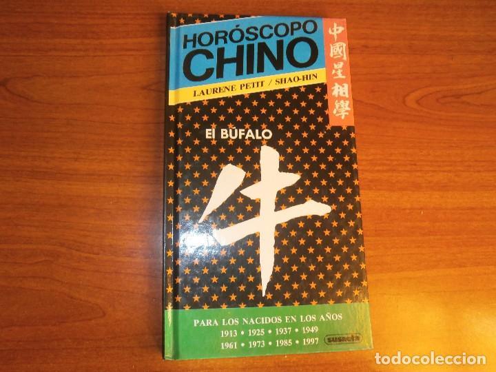 1 LIBRO TAPA DURA - AÑO 1989 - HOROSCOPO CHINO - EL BUFALO ( SUSAETA - PARA NACIDOS 1997 1985 1973 (Libros de Segunda Mano - Parapsicología y Esoterismo - Tarot)
