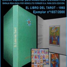Libros de segunda mano: PCBROS - EL LIBRO DEL TAROT - ED. ESPECIAL PARA ANDERSEN CONSULTING - 1993 - EJEM Nº 1657 / 2.000. Lote 64957155