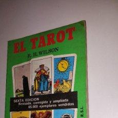 Libros de segunda mano: EL TAROT - 1984. Lote 71588255
