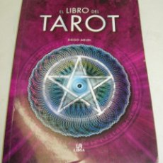 Libros de segunda mano: EL LIBRO DEL TAROT - DIEGO MELDI - LIBSA 2011. Lote 71616731