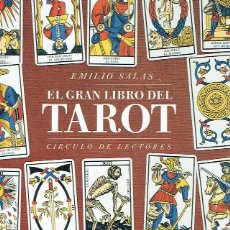 Libros de segunda mano: EL GRAN LIBRO DEL TAROT. EMILIO SALAS.. Lote 98130758