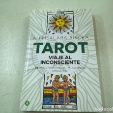 Libros de segunda mano: TAROT VIAJE AL INCONSCIENTE-AHIMSAKLARA RIBERA-N. Lote 108866136