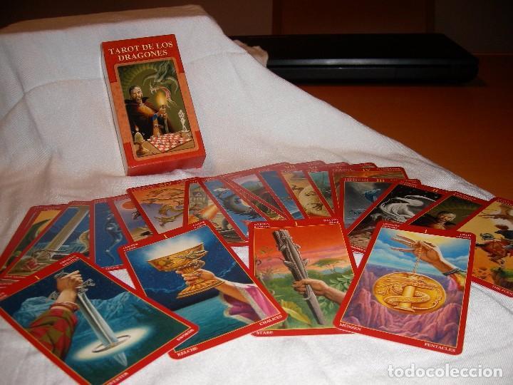 Libros de segunda mano: TAROT DE LOS DRAGONES - Foto 2 - 78856877