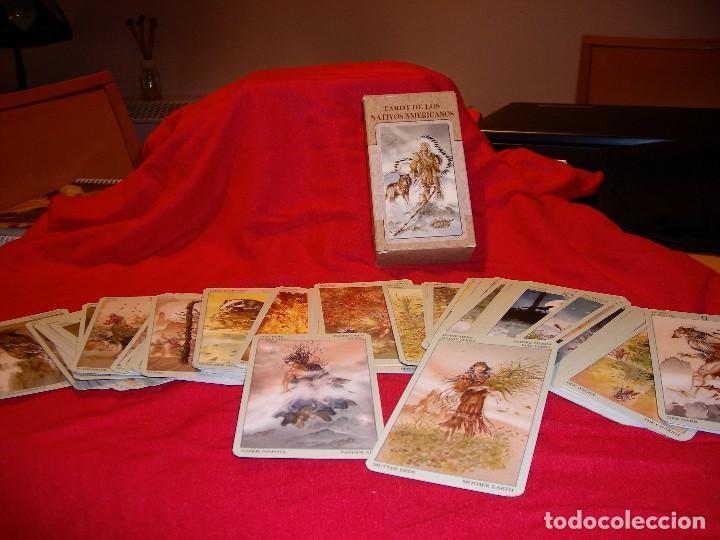 TAROT DE LOS NATIVOS AMERICANOS (Libros de Segunda Mano - Parapsicología y Esoterismo - Tarot)