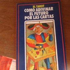 Libros de segunda mano: LIBRO EL TAROT COMO ADIVINAR EL FUTURO POR LAS CARTAS 1990 L-12820-32. Lote 79756669