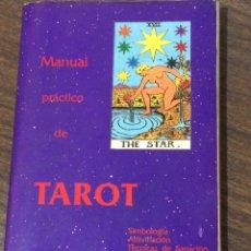 Libros de segunda mano: MANUAL PRACTICO DE TAROT. Lote 81722123