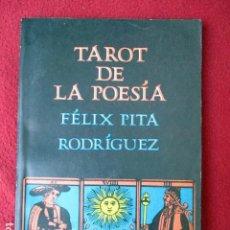 Libros de segunda mano: TAROT DE LA POESÍA. FÉLIX PITA RODRÍGUEZ. UNIÓN DE ESCRITORES Y ARTISTAS DE CUBA CONTEMPORÁNEOS 1976. Lote 88100332
