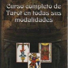 Libros de segunda mano: LIBRO CURSO COMPLETO DE TAROT EN TODAS SUS MODALIDADES EDIT. ARCA DE PAPEL 2003. Lote 88830856