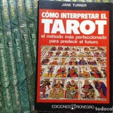 Libros de segunda mano: CÓMO INTERPRETAR EL,TAROT. Lote 89513264