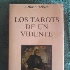 Libros de segunda mano: LOS TAROTS DE UN VIDENTE / OCTAVIO ACEVES / OBELISCO / 1985. Lote 89546408