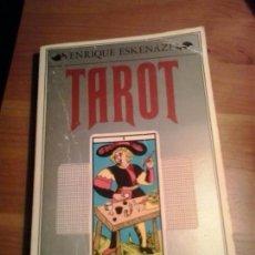 Libros de segunda mano: TAROT EL ARTE DE ADIVINAR - ENRIQUE ESKENAZI - DOPESA 1978. Lote 158550332