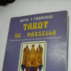 Libros de segunda mano: TAROT DE MARSELLA.DICTA.Y.FRANCOISE. Lote 95219932