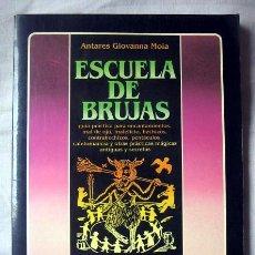 Libros de segunda mano: ESCUELA DE BRUJAS, DE ANTARES GIOVANNA MOIA. Lote 95778043