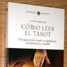 Libros de segunda mano: CÓMO LEER EL TAROT POR SYLVIA ABRAHAM DE ED. SALVAT EN BARCELONA 2008. Lote 96180943