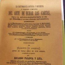 Libros de segunda mano: LA CARTOMANCIA ANTIGUA Y MODERNA Ó TRATADO DEL ARTE DE ECHAR LAS CARTAS. Lote 97140839
