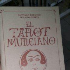 Libros de segunda mano: ELTAROT MURCIANO. AUTORES: SANTIAGO DELGADO (TEXTO) E IGNACIO GARCÍA (ILUSTRACIONES). NOVOGRAF 1988. Lote 97258251