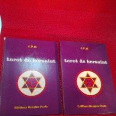 Libros de segunda mano: TAROT DE KERSAINT - J.P.K. - EDITIONS DANGLES PARIS - 2 LIBROS - EN INGLES Y FRANCES - CARTAS NUEVAS. Lote 97570363