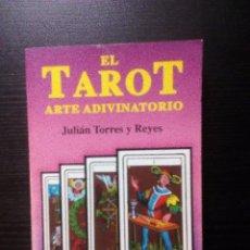 Libros de segunda mano: EL TAROT. ARTE ADIVINATORIO. JULIÁN TORRES Y REYES EDICOMUNICACIÓN S.A. ILUSTRADO. Lote 101249947