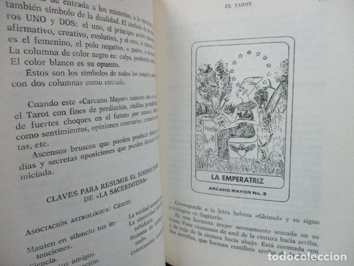 Libros de segunda mano: EL TAROT. LA BARAJA PROFÉTICA. JOSS IRISH. 1975. - Foto 4 - 102332131