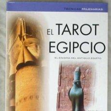 Libros de segunda mano: EL TAROT EGIPCIO - TÉCNICAS MILENARIAS - MARTA RAMÍREZ - ED. LIBSA 2005 - VER INDICE. Lote 209903525