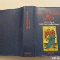 Libros de segunda mano: ANÓNIMO. LOS ARCANOS MAYORES DEL TAROT. MEDITACIONES. RM84440. . Lote 103775759