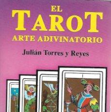 Libros de segunda mano: LIBRO DE 174 HOJAS CON ILUSTRACIONES EL TAROT ARTE ADIVINATORIO. Lote 105083179