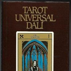 Libros de segunda mano: LIBRO, TAROT UNIVERSAL DALI. RACHEL POLACK. EDIT. MEDITERRANEA 1985. Lote 106041331