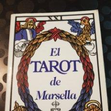 Libros de segunda mano: EL TAROT DE MARSELLA.. Lote 108815674