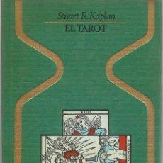 Libros de segunda mano: EL TAROT, STUART R. KAPLAN. Lote 109176083