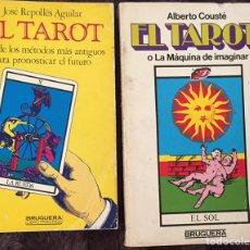 Libros de segunda mano: DOS VIEJOS LIBROS SOBRE EL TAROT. Lote 109347454