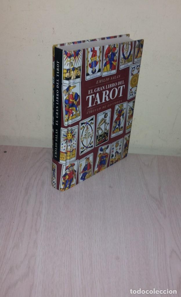 EMILIO SALAS - EL GRAN LIBRO DEL TAROT - CIRCULO DE LECTORES 1998 (Libros de Segunda Mano - Parapsicología y Esoterismo - Tarot)