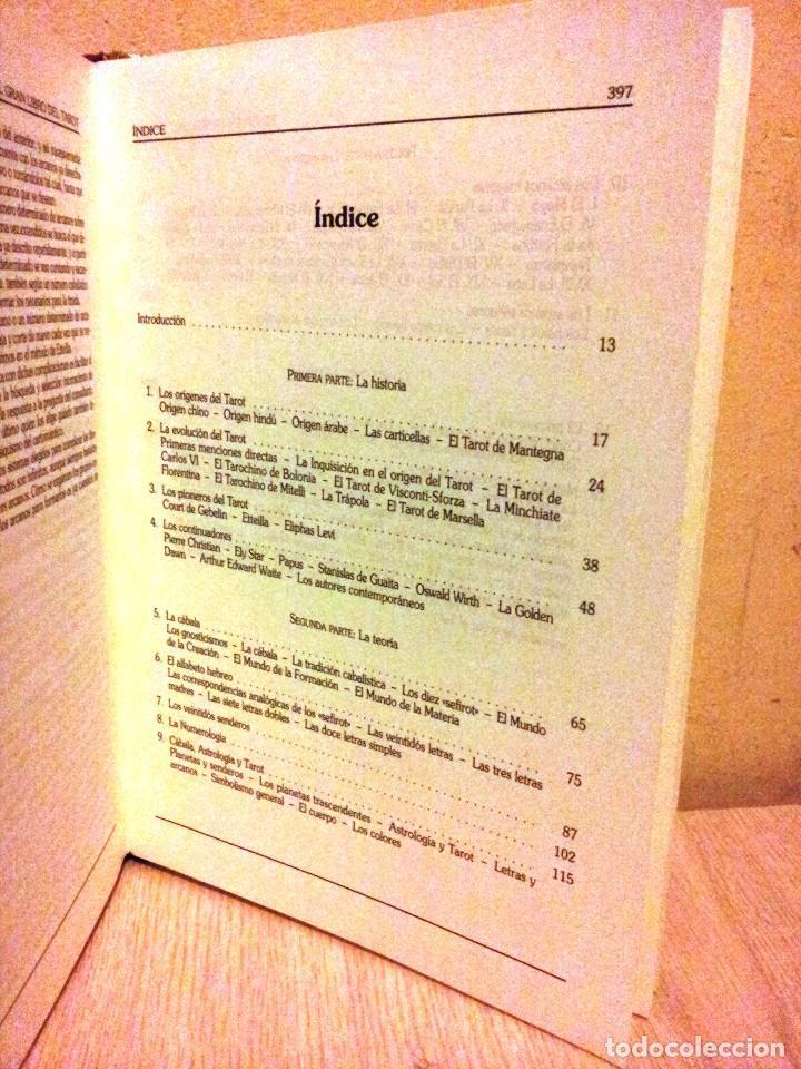 Libros de segunda mano: EMILIO SALAS - EL GRAN LIBRO DEL TAROT - CIRCULO DE LECTORES 1998 - Foto 3 - 113023063
