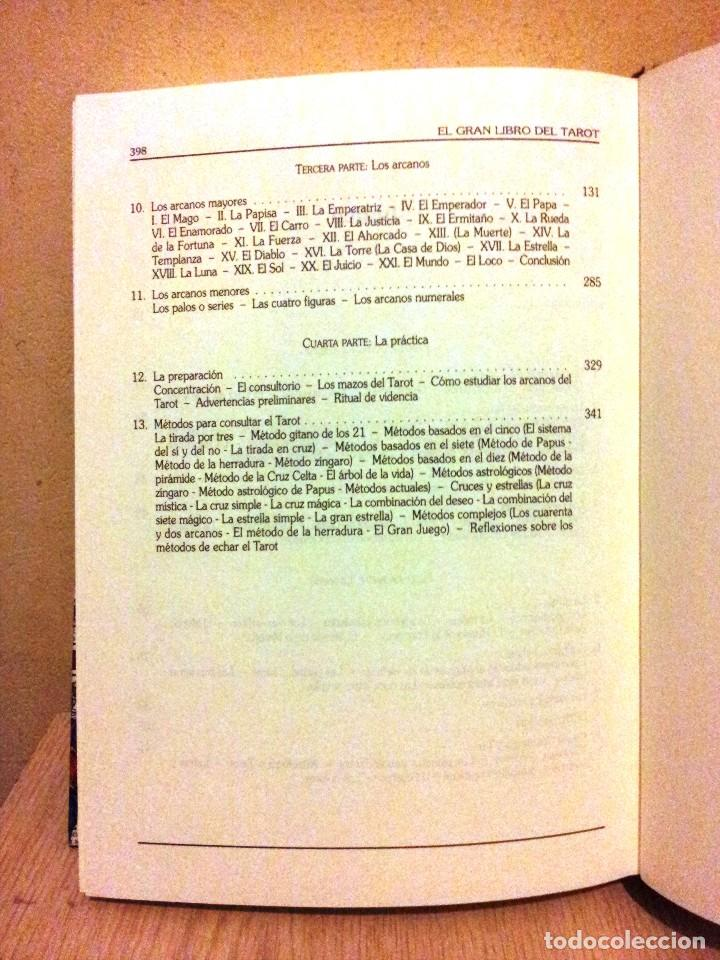 Libros de segunda mano: EMILIO SALAS - EL GRAN LIBRO DEL TAROT - CIRCULO DE LECTORES 1998 - Foto 4 - 113023063