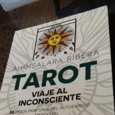 Libros de segunda mano: TAROT.AHIMSALARA RIBERA.2015. Lote 113322978
