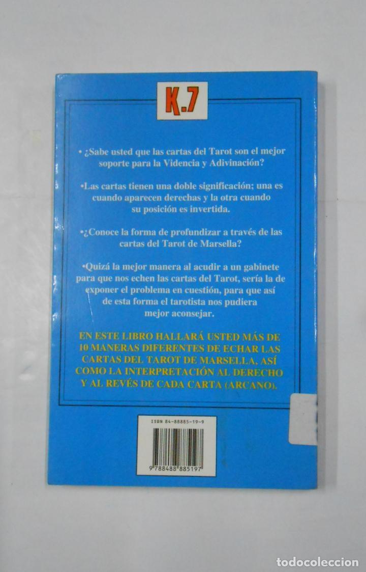 Libros de segunda mano: El tarot de Marsella super fácil: videncia, sabiduría y poder. OLGA ROIG. PETER STONE. TDK335 - Foto 2 - 113561735