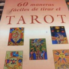 Libros de segunda mano: 60 MANERAS FÁCILES DE TIRAR EL TAROT EDICIONES KARMA 7 RAMON PLANA Y OLGA ROIG. Lote 113624576