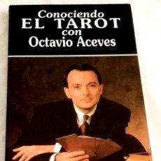 Libros de segunda mano: CONOCIENDO EL TAROT CON OCTAVIO ACEVES - EDAF 1996. Lote 113847131