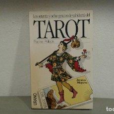 Libros de segunda mano: TAROT LOS SETENTA Y OCHO GRADOS DE SABIDURIA POR RACHEL POLLACK ILUSTRADO EDIT.URANO. Lote 165988066