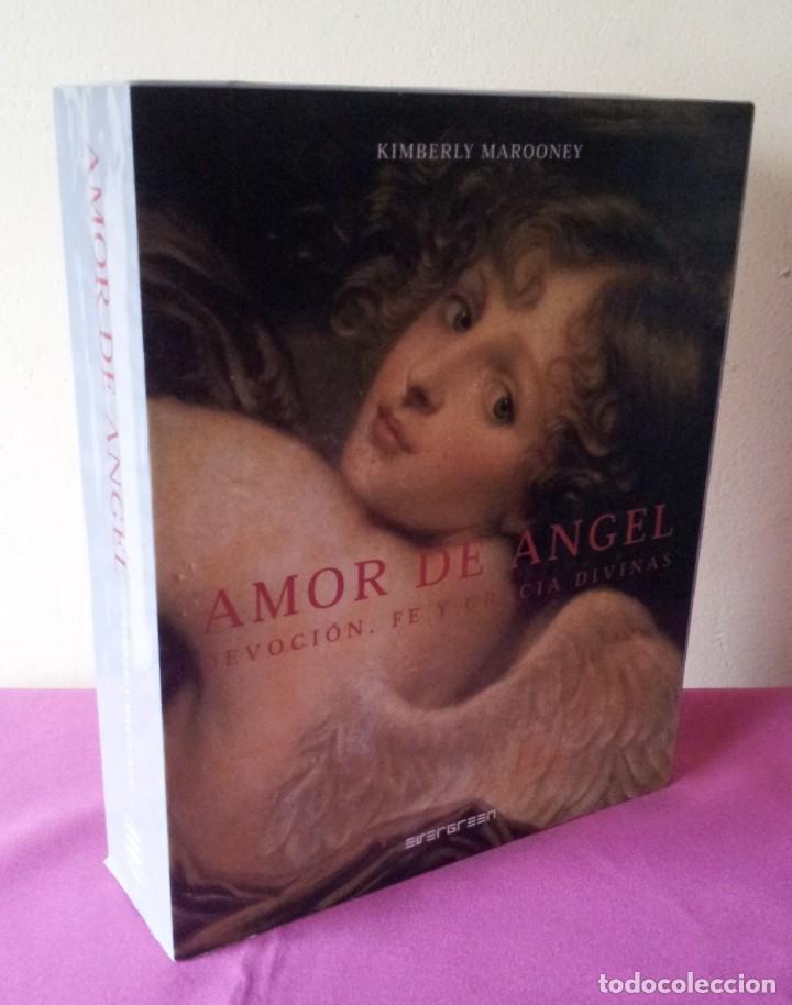 KIMBERLY MAROONEY - AMOR DE ANGEL - DEVOCION, FE Y GRACIA DIVINAS - ESTUCHE CON LIBRO Y 40 CARTAS (Libros de Segunda Mano - Parapsicología y Esoterismo - Tarot)