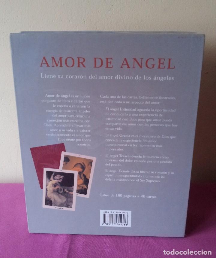 Libros de segunda mano: KIMBERLY MAROONEY - AMOR DE ANGEL - DEVOCION, FE Y GRACIA DIVINAS - ESTUCHE CON LIBRO Y 40 CARTAS - Foto 2 - 114473283