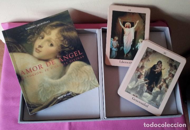 Libros de segunda mano: KIMBERLY MAROONEY - AMOR DE ANGEL - DEVOCION, FE Y GRACIA DIVINAS - ESTUCHE CON LIBRO Y 40 CARTAS - Foto 3 - 114473283