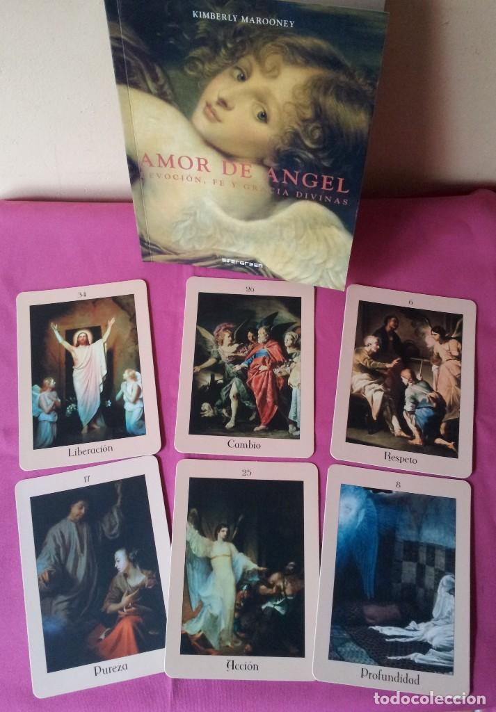 Libros de segunda mano: KIMBERLY MAROONEY - AMOR DE ANGEL - DEVOCION, FE Y GRACIA DIVINAS - ESTUCHE CON LIBRO Y 40 CARTAS - Foto 6 - 114473283