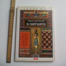 Libros de segunda mano: EL TAROT EGIPCIO, MARGARITA ARNAL MOSCARDO. SABER MÁS, PLAZA & JANES 1982 1ª EDIC. Lote 115046823