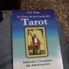Libros de segunda mano: LIBRO: TAROT : MÉTODO COMPLETO DE ADIVINACION. Lote 115119136