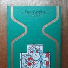 Libros de segunda mano: EL TAROT, STUART KAPLAN, OTROS MUNDOS PLAZA & JANES, 1978. Lote 115566415