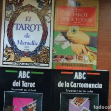 Libros de segunda mano: 4 IBROS DE TAROT . Lote 119550415